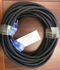 12/3 50' SJOOW Black Super Flex Rubber Extension (UL/CSA), Lighted End