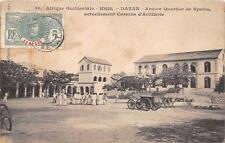 CPA SENEGAL DAKAR ANCIEN QUARTIER DE SPAHIS ACTUELLEMENT CASERNE D'ARTILLERIE