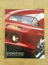 1994 Pontiac Full Line Up Brochure 16 Page