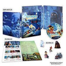 Used Moomins and the Winter Wonderland Deluxe Blu-ray Steelbook Pins Japan