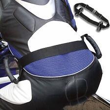 Tech7 Motorbike Motorcycle Pillion Passenger Grab Handles Safety Belt