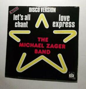 Ref1752 Vinyle 33 Tours / disco version let's all chant love express