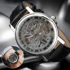 Men-Watch-Automatic-Silver-Skeleton-Leather-Analog-Mechanical-Wrist-Watch-Luxury