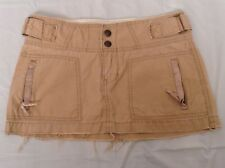 Ambercrombie and Fitch skirt womens size 0 beige