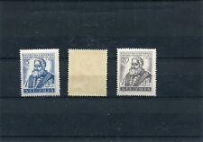 Italia  Trieste B  1951 42-44  (il valore 10 è un po rovinato) Mnh