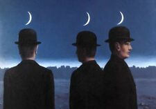 Tela Canvas Magritte cod 39 cm.70x100 Stampa Printing Digital Art papiarte