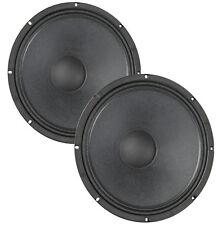 "Pair Eminence Legend CA154 15"" Bass Guitar Speaker 4ohm 97dB 2.5""VC Replacement"