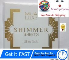 MUA Luxe Shimmer Sheet Highlighter Illuminator White Gold