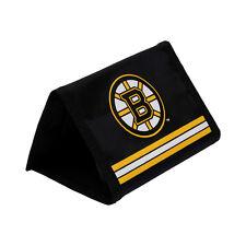 Boston Bruins tri fold wallet