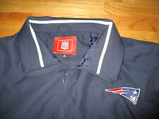 NFL NEW ENGLAND PATRIOTS Zippered (XL) Jacket w/ Patch