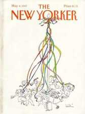 New Yorker COVER 05/04/1987  May Pole - LEVIN