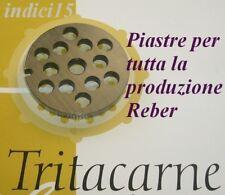REBER PIASTRA ACCIAIO X TRITACARNE ELETTRICO N.22-N.32