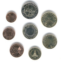 Slovenia 2009 - Set of 8 Euro Coins (UNC)  *RARE*
