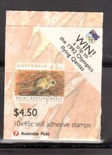 AUSTRALIA 1992 Threatened Species booklet MUH