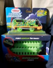 Thomas & Friends Trackmaster Motorized Percy Hyper Glow Engine With Track Rare