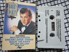 Bobby Darin The Legend Of Bobby Darin - His Greatest Hits! Tape Cassette Album