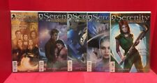 Lot Of 5 Serenity Firefly Class 03-K64 1-4 (2#1's) Joss Whedon Dark Horse Comics