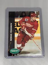 Sergei Fedorov 1991-1992 Parkhurst Hockey #38 Detroit Red Wings