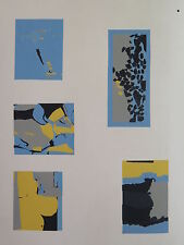 Josef Albers Original Silkscreen Folder XVIII-12/Left Interaction of Color 1963