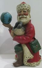 "Leo Smith ""Santa Of Peace� Midwest of Cannon Falls Folk Art 67/5000 Limited Ed"