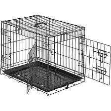 Cage pour chien Box de transport boîte cage parc à chiots canine 60 x 44 x 51cm