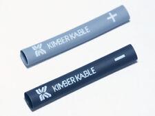 1 paia Kimber TUBETTI termorestringenti SMALL per Cavo 3,5-7mm GRIGIO/NERO 8vs & 4vs