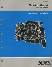 "1999 VOLVO PENTA  ""WT"" ENGINE COMPONENTS WORKSHOP SERVICE MANUAL 3850076 (908)"
