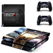Mass Effect Andromeda PS4 Vinyl Skin Sticker Decal Console & 2 Controllers NEW
