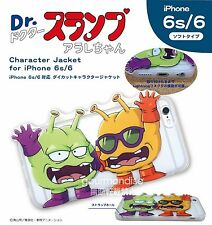 Dr. Slump Arale-chan iPhone6/6S Diecut Character Jacket Nikochan BANDAI