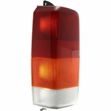 Tail Light For 97-2000 Jeep Cherokee SE LH Amber, Clear & Red Lens