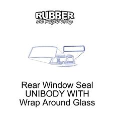 1961 1962 1963 Ford Truck Rear Window Seal Unibody With Wrap Around Glass