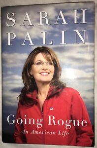 SARAH PALIN Signed Autographed Going Rogue BOOK w DJ An American Life 2009 USA !