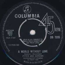 """A World Without Love 7"""" : Peter And Gordon"""