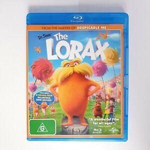 Dr Seuss The Lorax Movie Bluray Free Postage Blu-ray - Kids Family