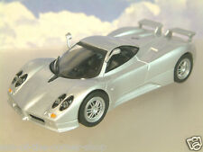 SUPERB PART-WORK DIECAST 1/43 PAGANI ZONDA C12S IN SILVER SEALED BLISTER PACK