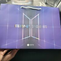 BTS Lotte Department POP UP Store SPACE OF BTS Official Goods Shopping bag