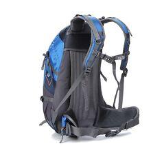 Blue Rucksack Blue Backpack New Outlander 35L Internal Frame Walk Trek Run Cycle