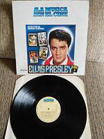 """ELVIS PRESLEY SELECCION DE BANDAS SONORAS SOUNDTRACK LP VINILO 12"""" VG/VG 1982"""