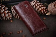 Genuine leather Brown Braun Buffel Key Holder Case Housekeeper Key Bag