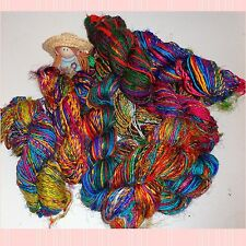 Lustrous Sari Silk Yarn Hand Spun and Very Soft Best Quality
