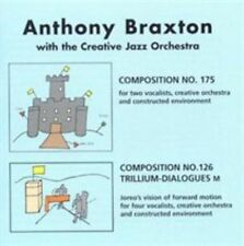 Compositions 175 and 126 by Anthony Braxton (CD, Jan-2006, 2 Discs, Leo...