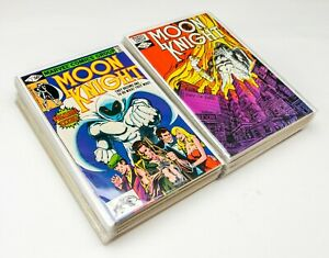 Moon Knight #1-38 Comp. Set (1980 Marvel) Origin of Marc Spector, Most in VF/NM