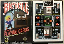 8-Bit Original Deck Pixelated Bicycle Playing Cards Poker Size USPCC Limited New