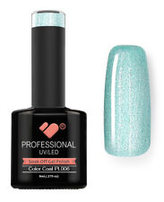 PL006 VB Line Platinum Light Green Metallic - gel nail polish - super gel polish
