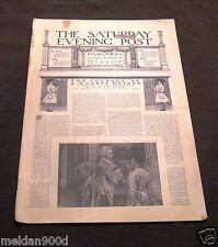 Antique THE SATURDAY EVENING POST Magazine Nov26 1898   Issue * SHIPS FREE W/BIN