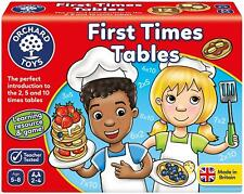Orchard Toys FIRST TIMES TABLES Educational Toy Game BN