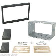 CITROEN C3 2002 to 2009 BLACK DOUBLE DIN FACIA ADAPTER PANEL FITTING KIT