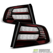 Blk Tinted 2004 2005 2006 2007 2008 Acura TL Tail Lights Brake Lamps Left+Right