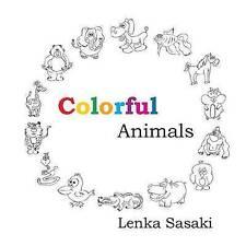 NEW Colorful Animals by Lenka Sasaki