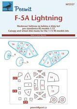 Peewit 1/72 Lockheed F-5A Lightning # PEE72127